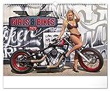 Girls & Bikes Erotik Kalender 2020 - Nackte Frauen Wandkalender für Männer...