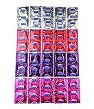 Durex Fun Explosion Kondome, abwechslungsreicher Kondom Mix für mehr Spaß, 40...