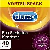 Durex Fun Explosion Kondome – Verschiedene Sorten für aufregende Vielfalt -...