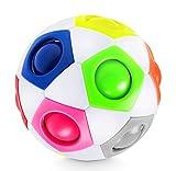 Lucky Humans® -Premium Regenbogenball- Geschicklichkeits-Spiel für Kinder und...