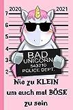 Nie zu Klein um auch mal böse zu sein...: Einhorn Wochenkalender Juni 2020 -...