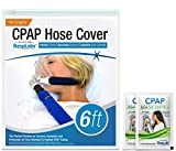 RespLabs CPAP Hose Cover — [6 Foot] Tube Wrap | Fleece Tubing Comfort with...
