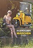 Schwalbenmädchen 2021: 12 Motive des Kultmotorrads der ehemaligen DDR erotisch...