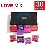 Durex Love Collection Kondome in stylischer Box – Aufregende Vielfalt,...