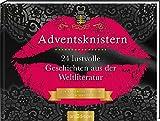 Adventsknistern. 24 lustvolle Geschichten aus der Weltliteratur.: Ein Buch zum...