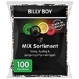 Billy Boy Kondome Mix-Sortiment Großpackung, Farbige, Extra Feucht und...
