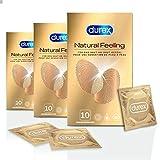 Durex Natural Feeling Kondome – Latexfreie Kondome für ein natürliches Haut...